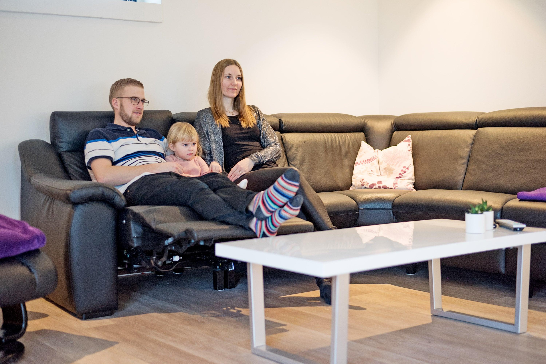 Sune, Pernille og Emilie - Alterna Huse