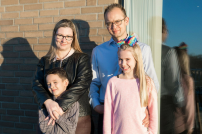 Familien Søndergaard - Alterna Huse