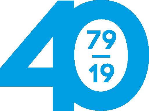 Alterna 40 års logo